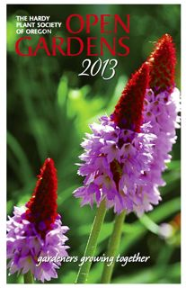 2013 Open Gardens Book cover
